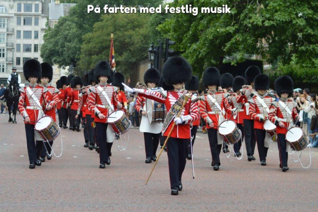 På farten med festlig musik